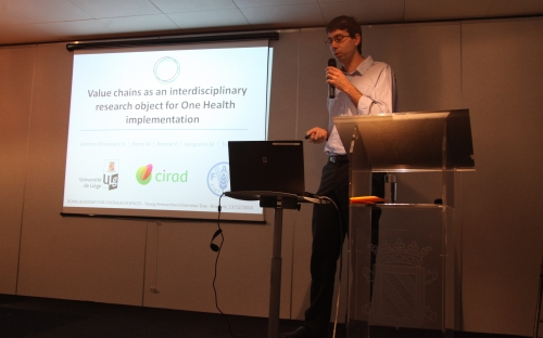 Nicolas Antoine-Moussiaux - Value chains as an interdisciplinary research object for One Health implementation © RAOS