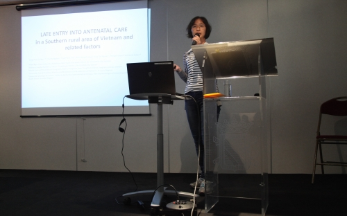 Dung Thuy Thi Ngo - Late entry into Antenatal Care in a Southern rural area, Vietnam, and related factors © RAOS
